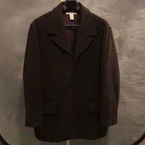 Men's Perry Ellis Wool Coat
